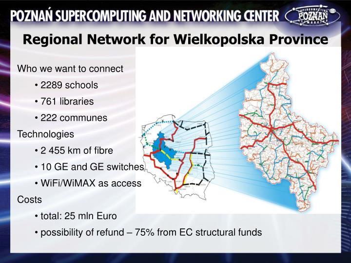 Regional Network for Wielkopolska Province