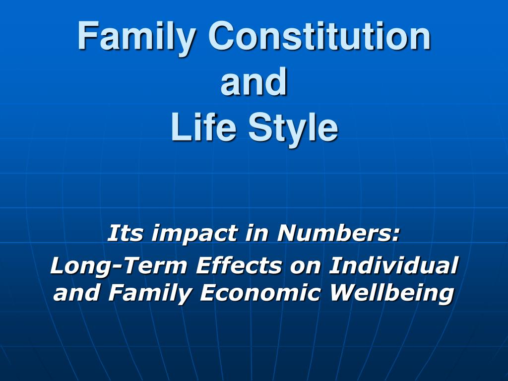 Family Constitution and