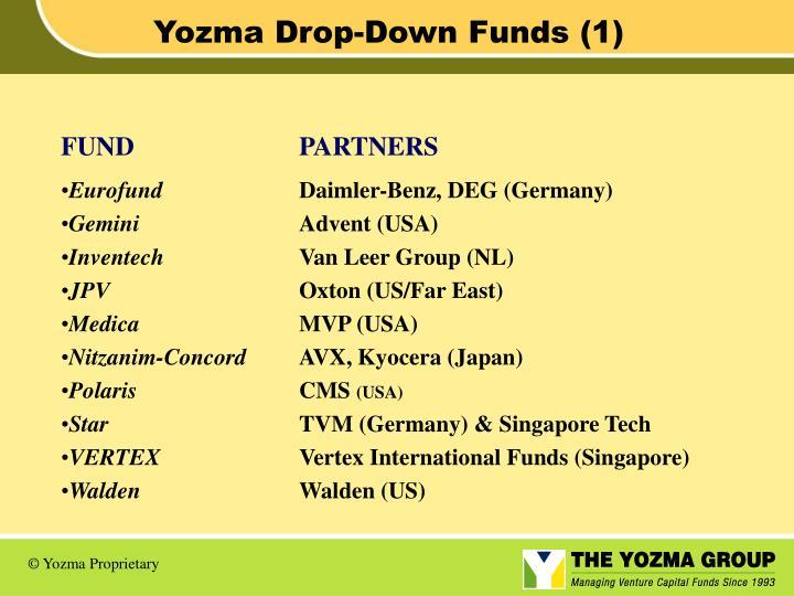 Yozma Drop-Down Funds (1)