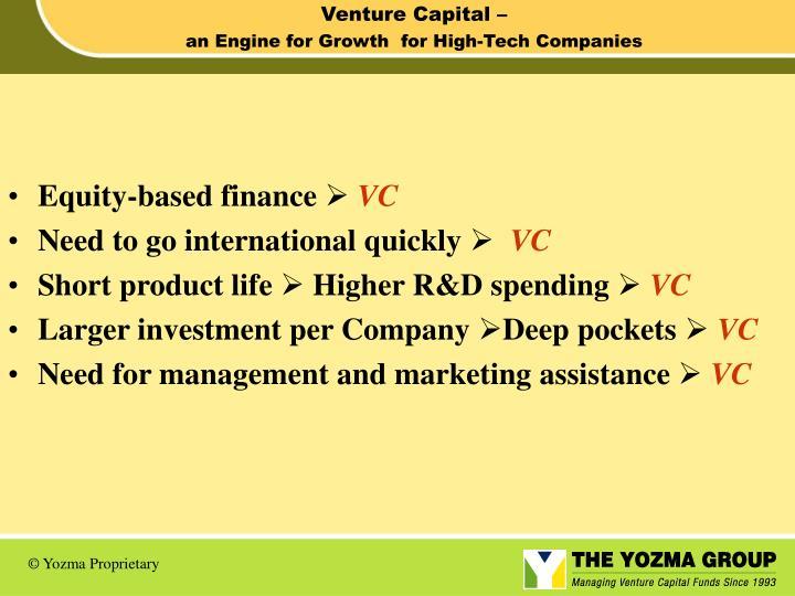 Venture Capital –