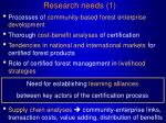 research needs 1