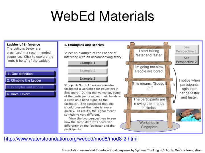 WebEd Materials