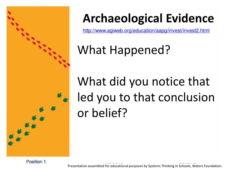 Archaeological Evidence
