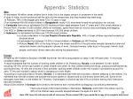 appendix statistics23