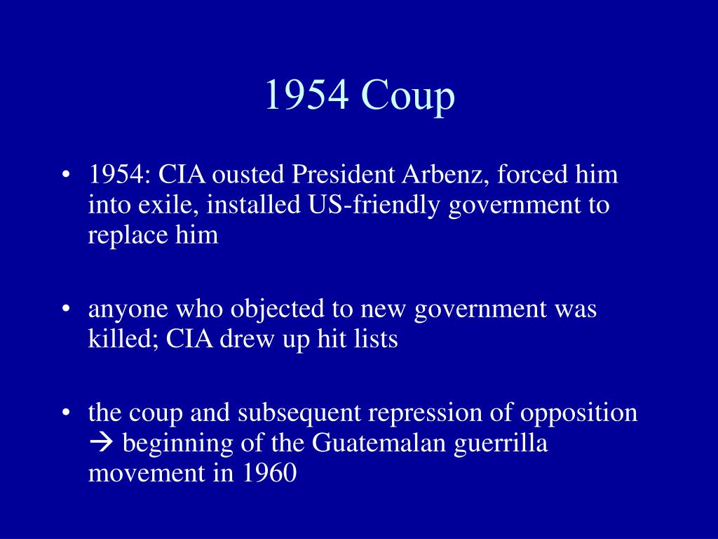 1954 Coup