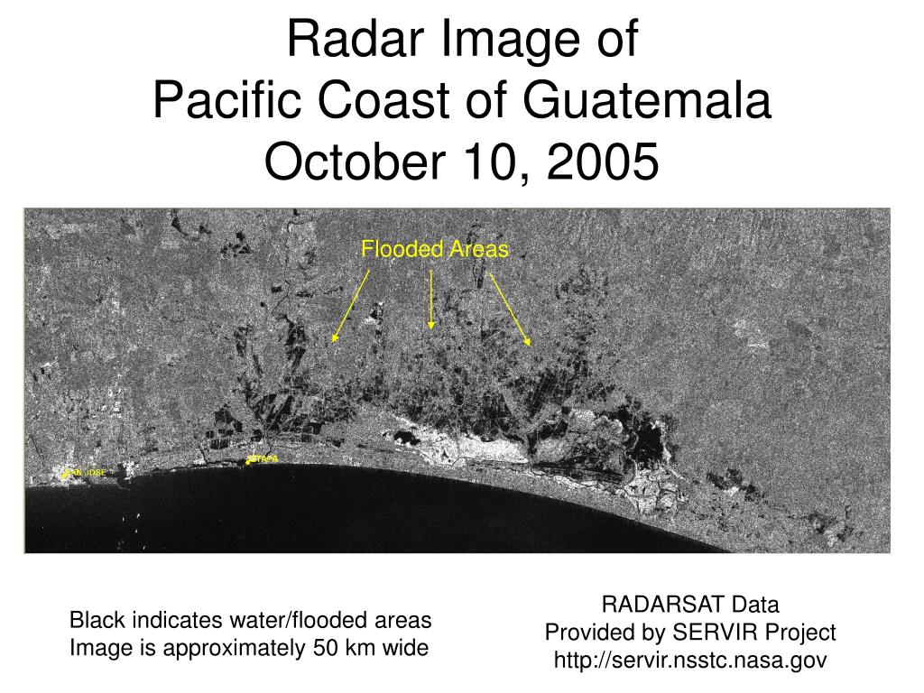 Radar Image of