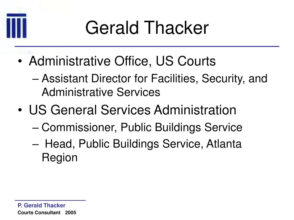 Gerald Thacker