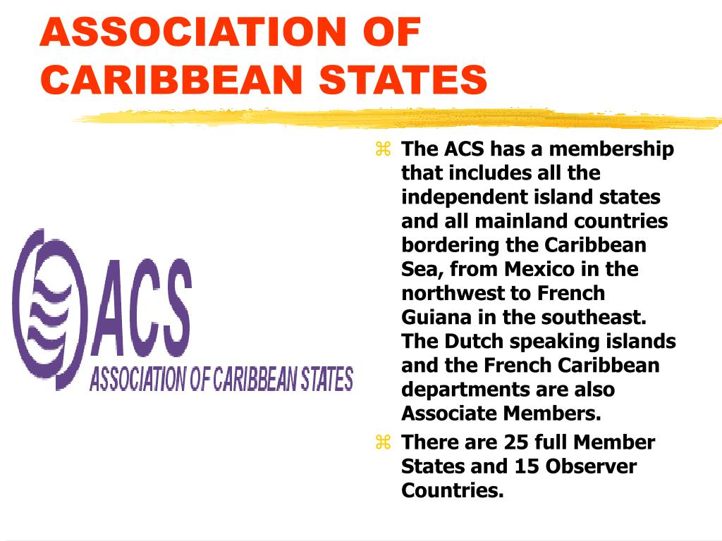 ASSOCIATION OF CARIBBEAN STATES
