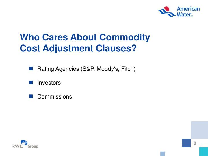 Who Cares About Commodity