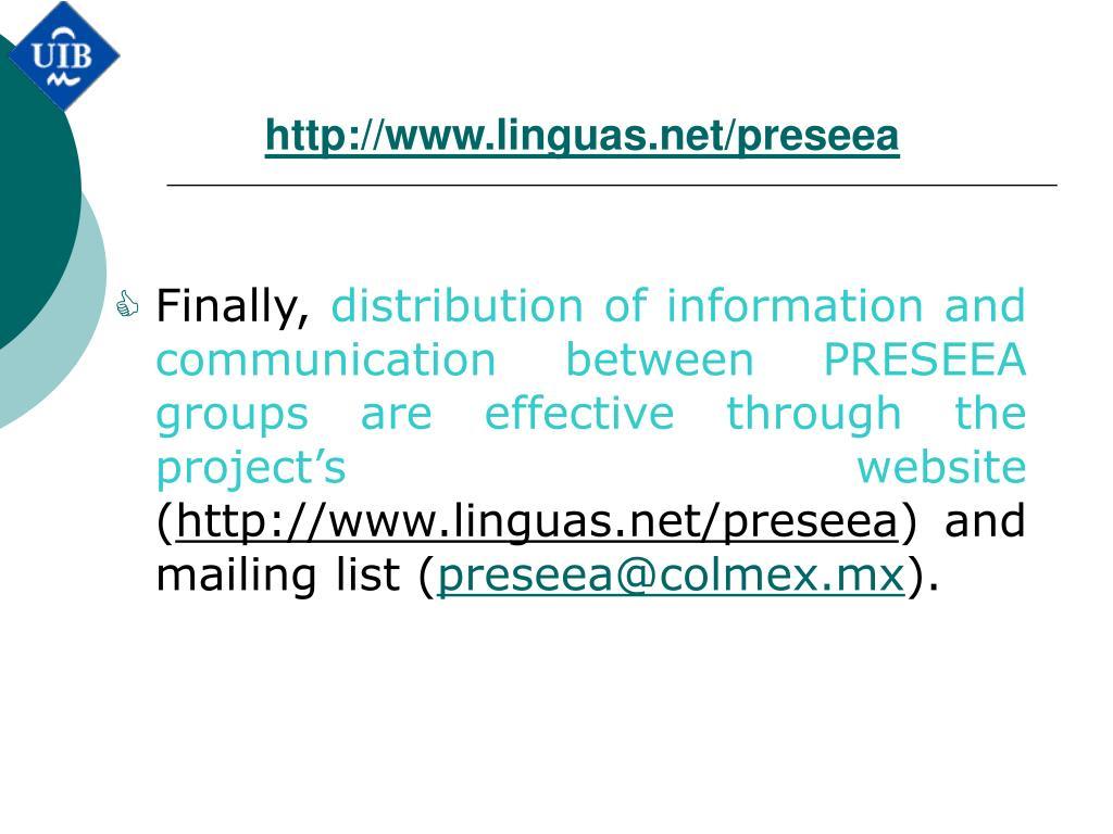 http://www.linguas.net/preseea