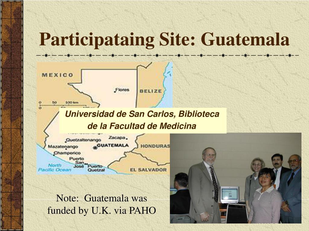 Participataing Site: Guatemala