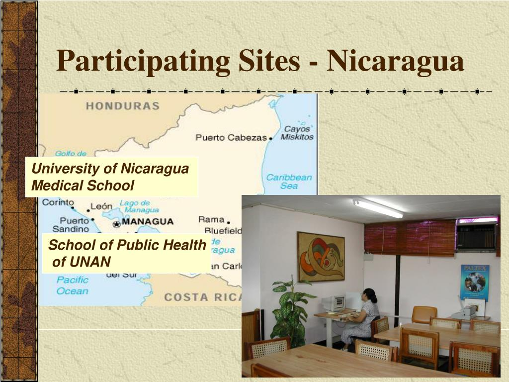 Participating Sites - Nicaragua