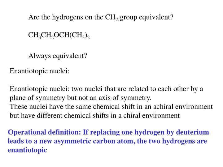 Are the hydrogens on the CH