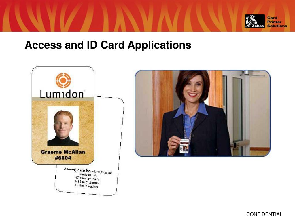 Access and ID Card Applications