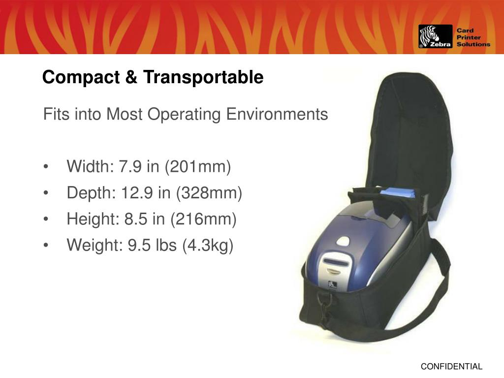 Compact & Transportable