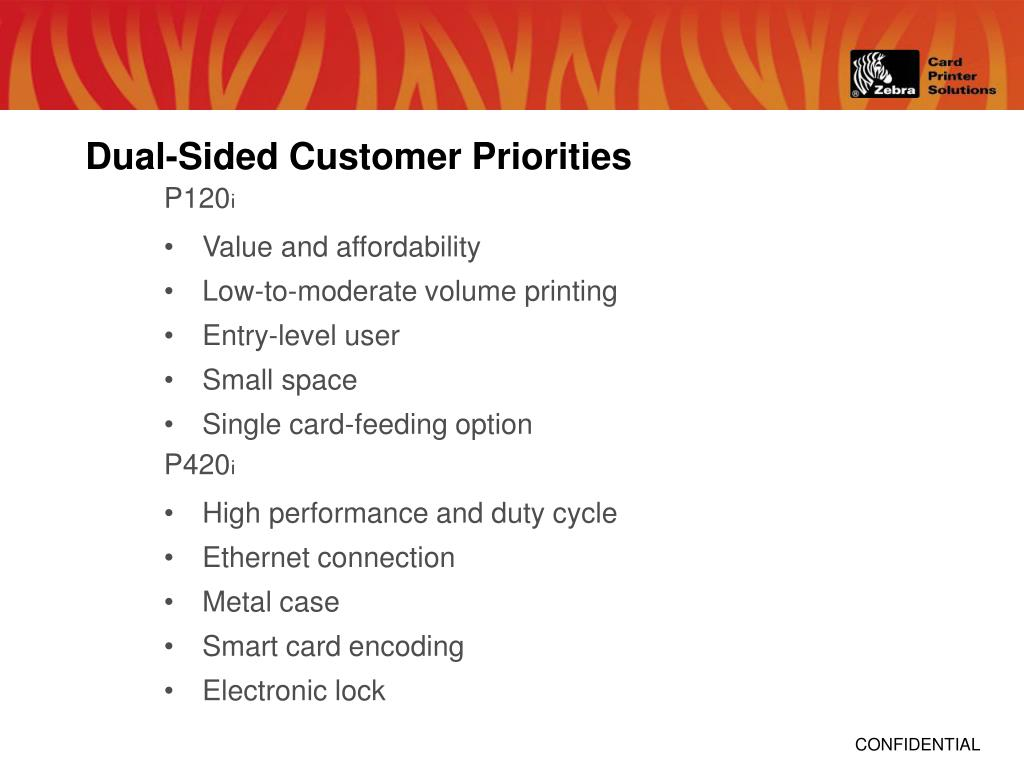 Dual-Sided Customer Priorities