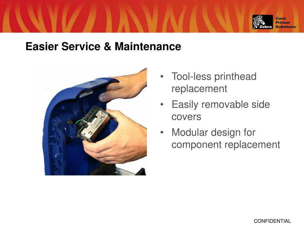 Easier Service & Maintenance