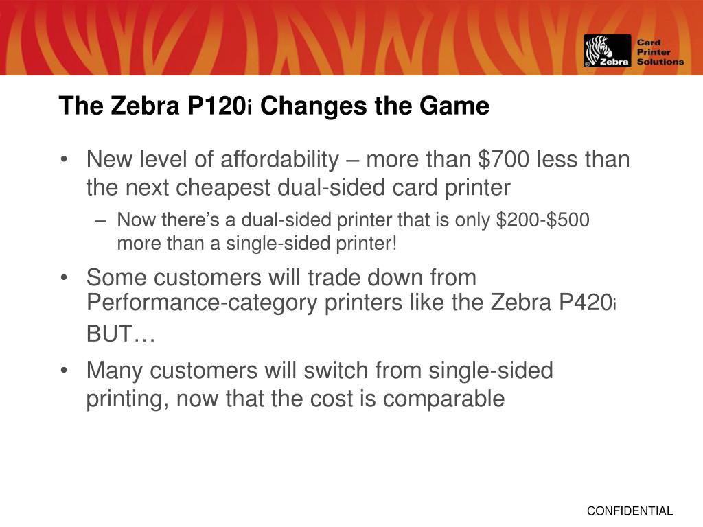The Zebra P120