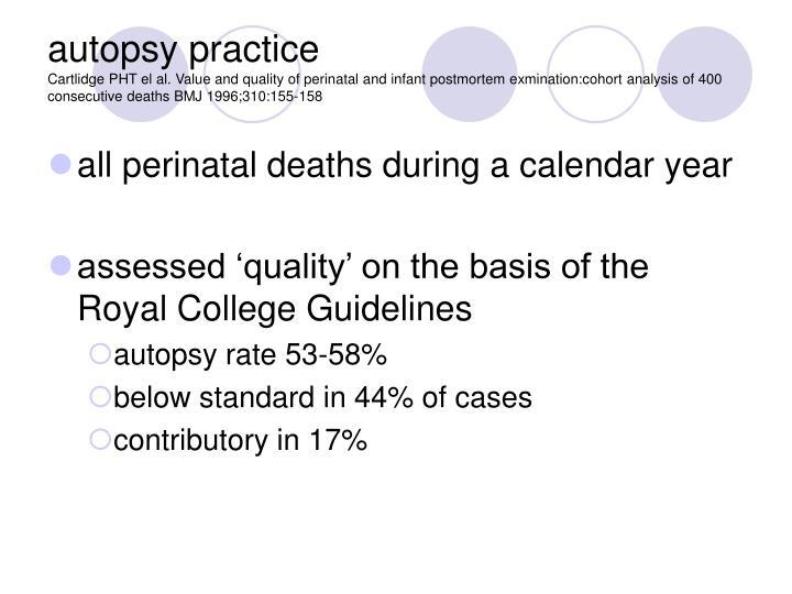 autopsy practice