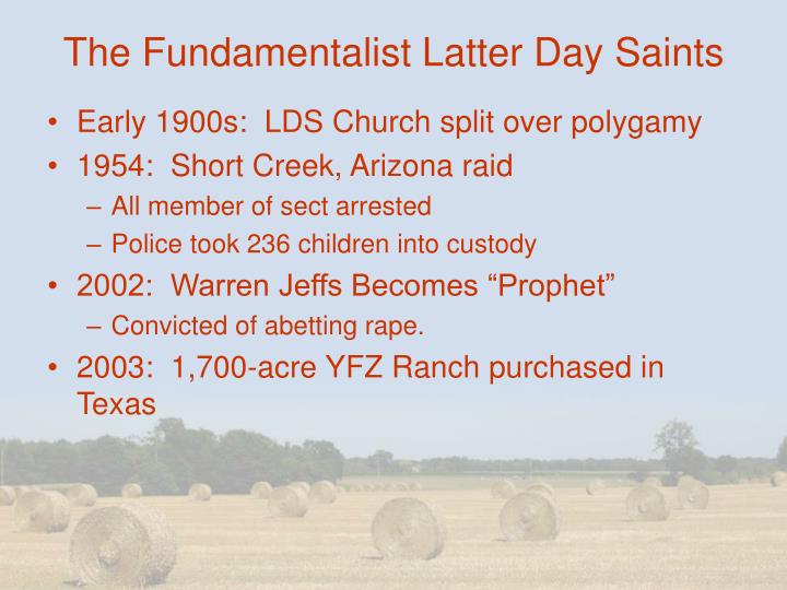 The Fundamentalist Latter Day Saints
