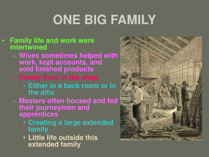 ONE BIG FAMILY