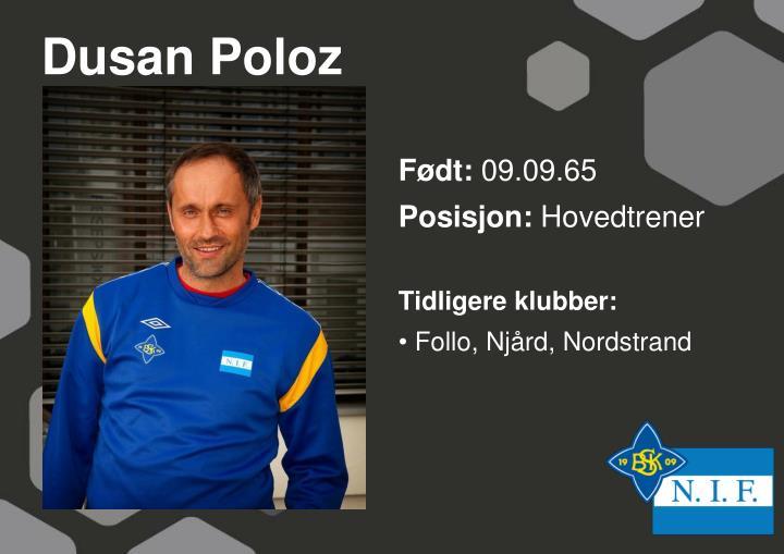 Dusan Poloz