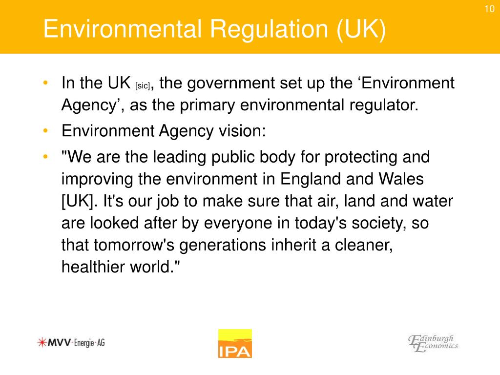 Environmental Regulation (UK)