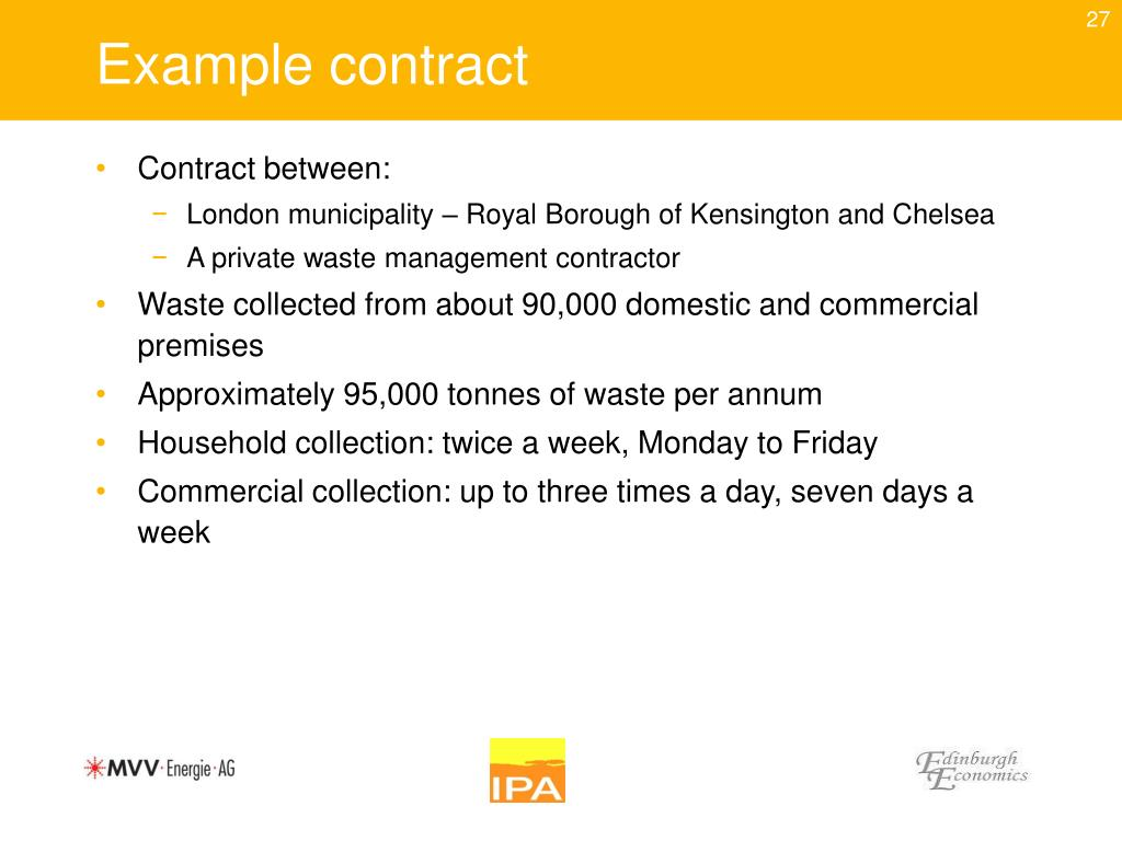 Example contract