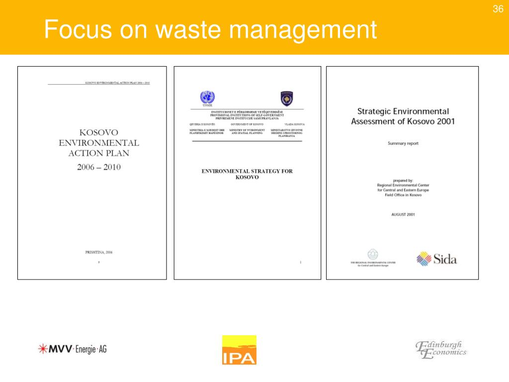 Focus on waste management