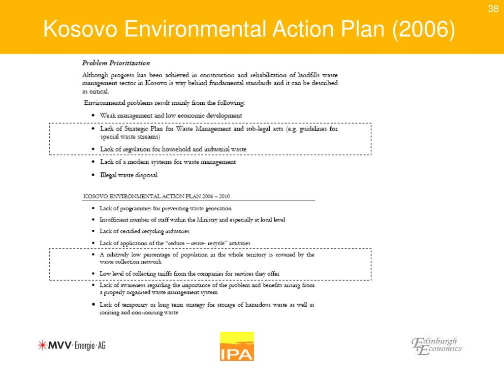 Kosovo Environmental Action Plan (2006)