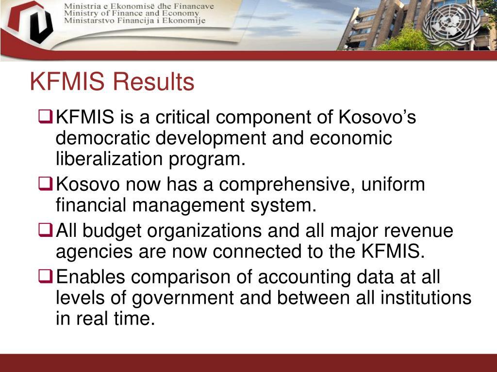 KFMIS Results