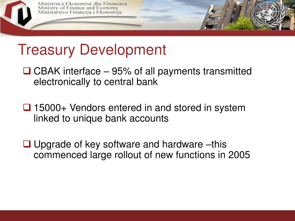 Treasury Development