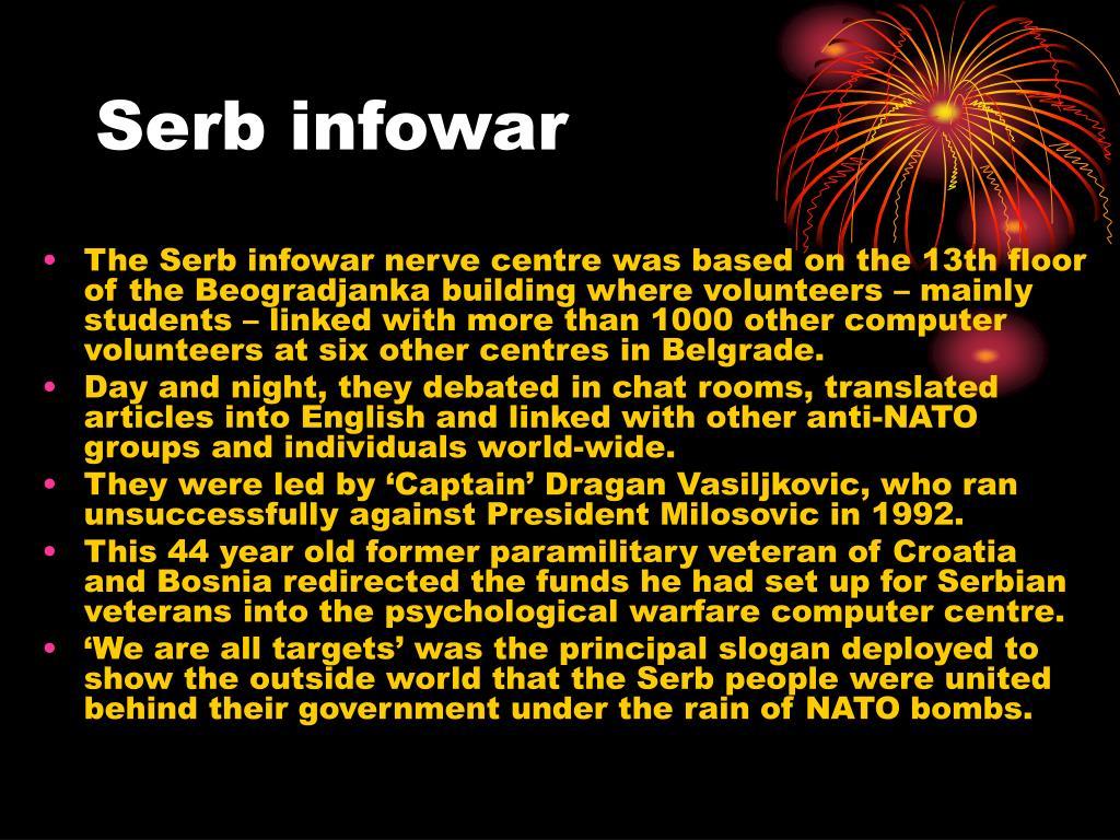 Serb infowar