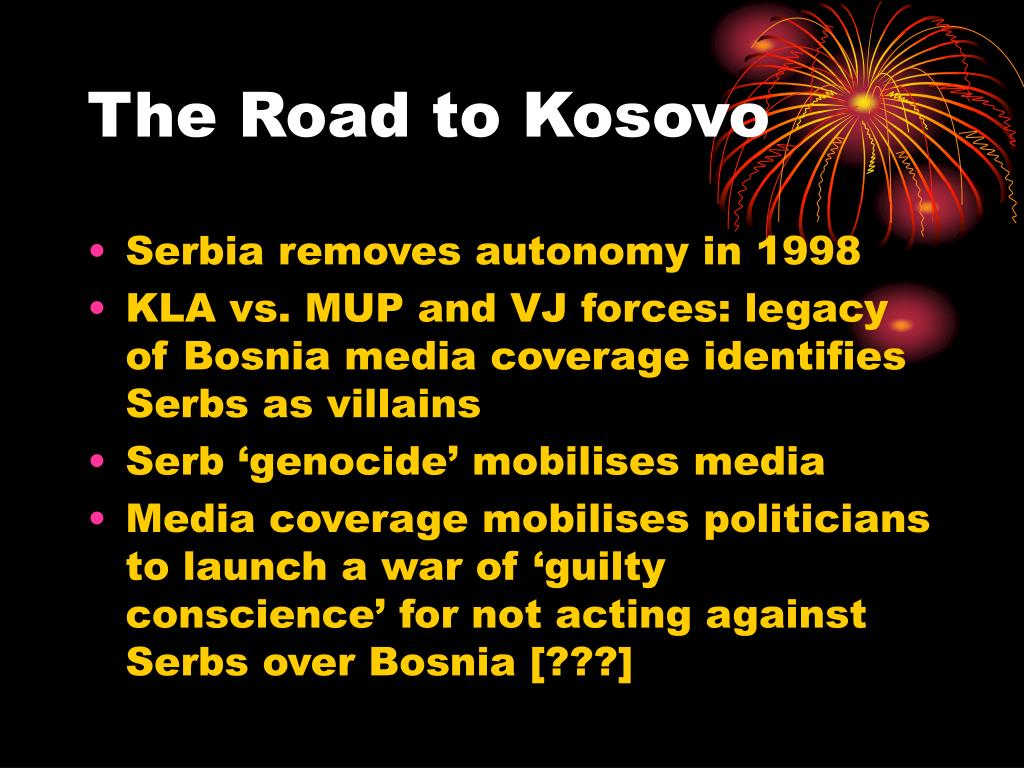 The Road to Kosovo