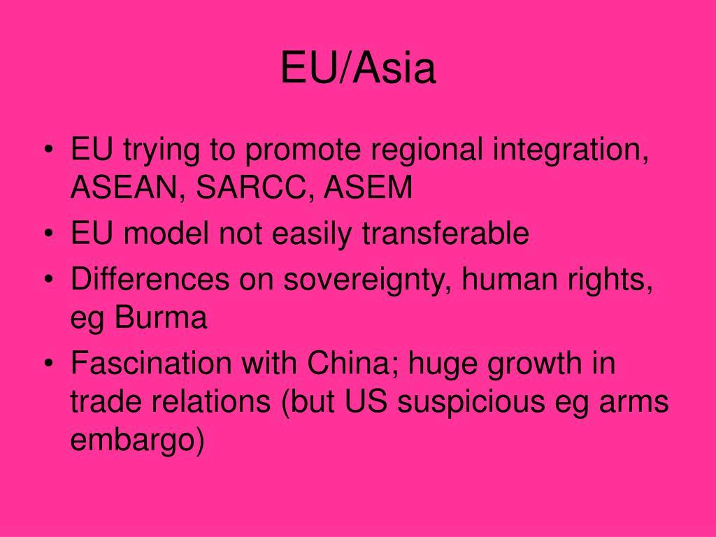 EU/Asia