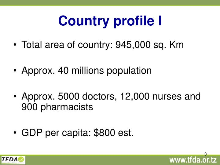 Country profile i
