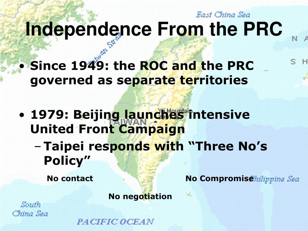 Independence From the PRC