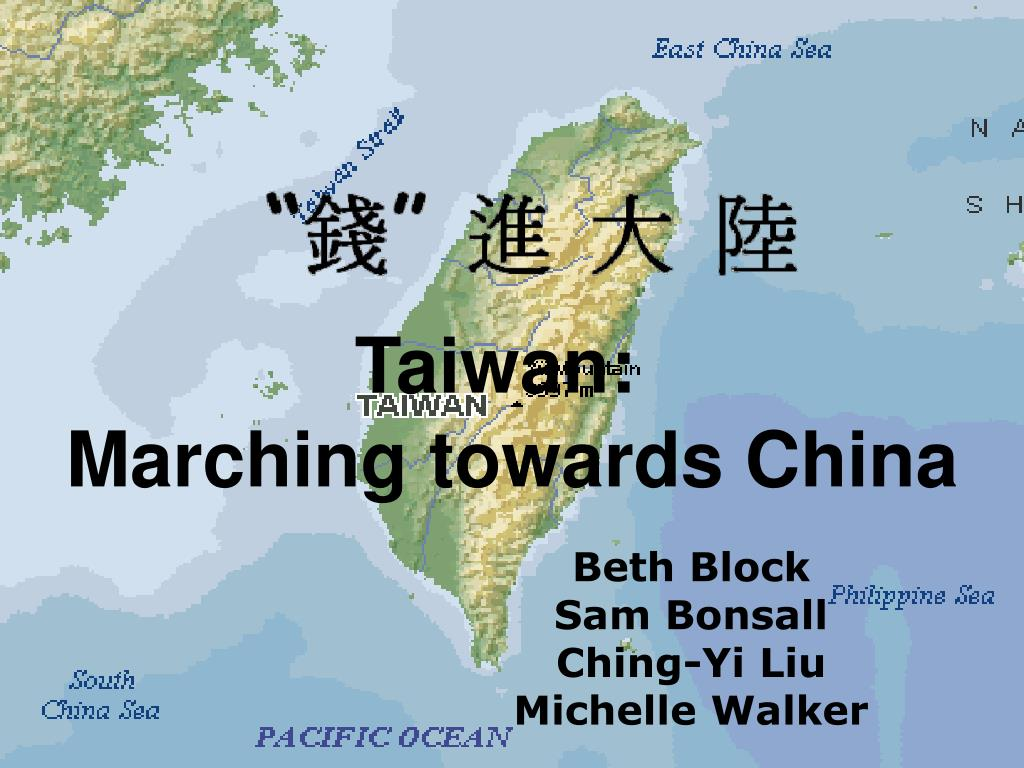 Marching towards China