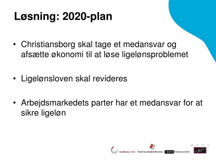 Løsning: 2020-plan