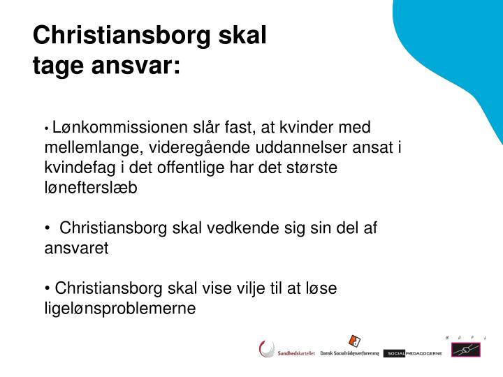Christiansborg skal