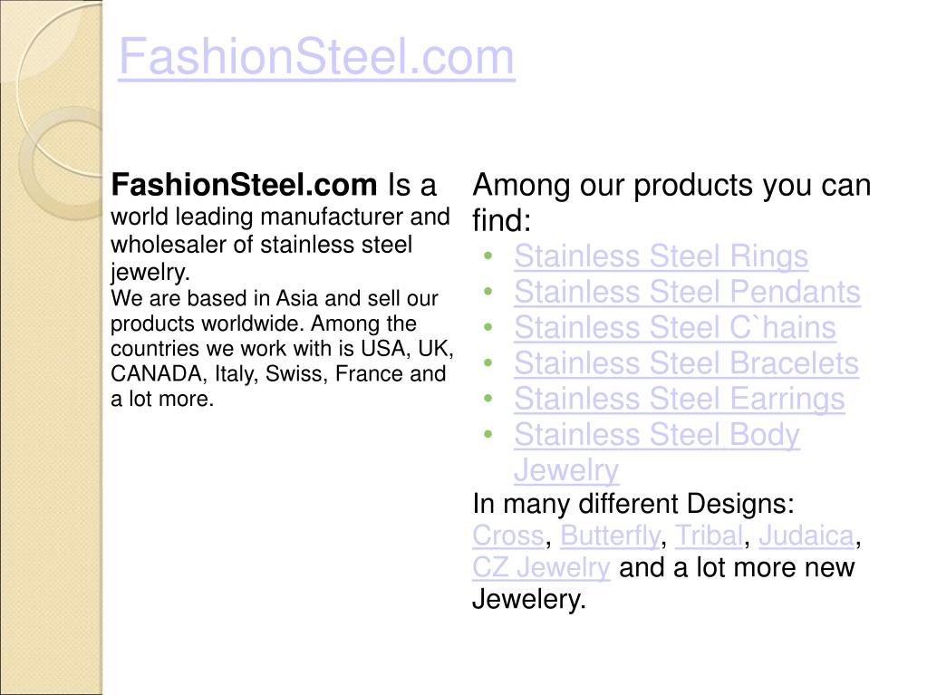 FashionSteel.com