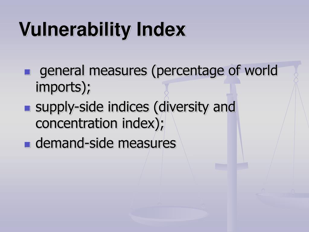 Vulnerability Index
