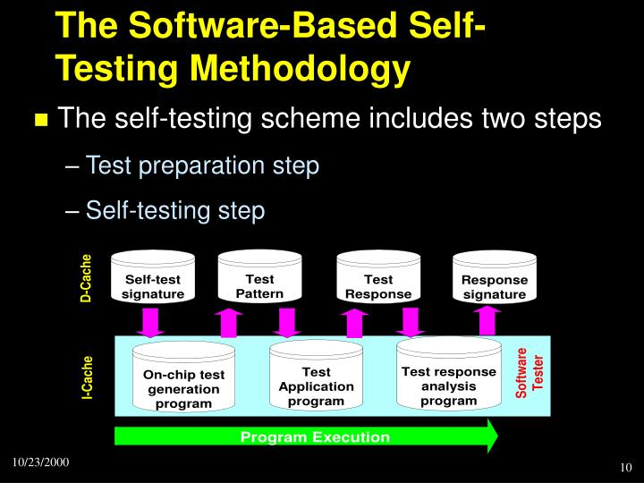 The Software-Based Self-Testing Methodology