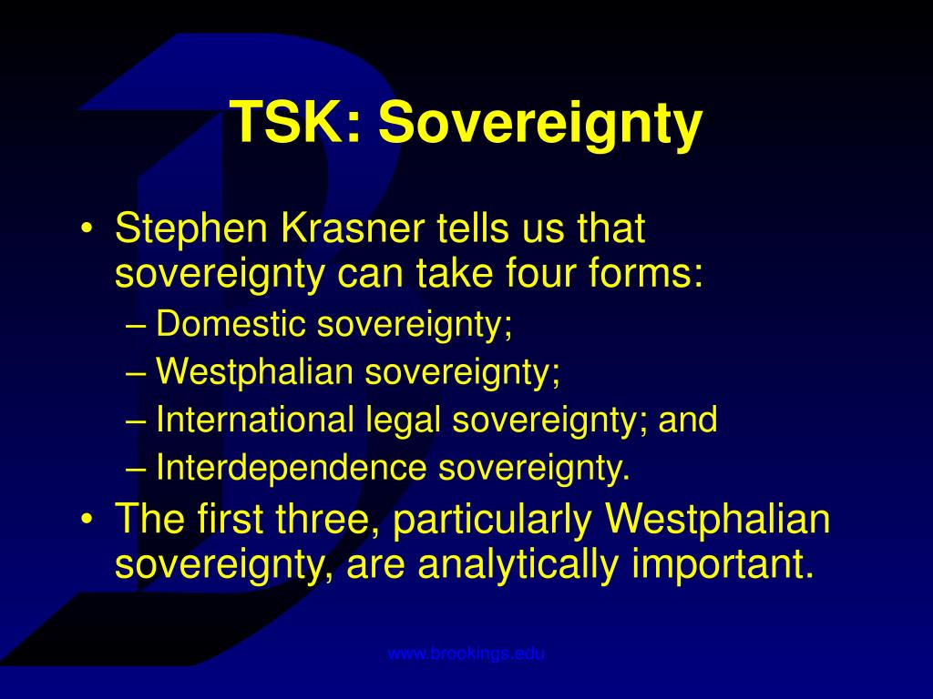 TSK: Sovereignty