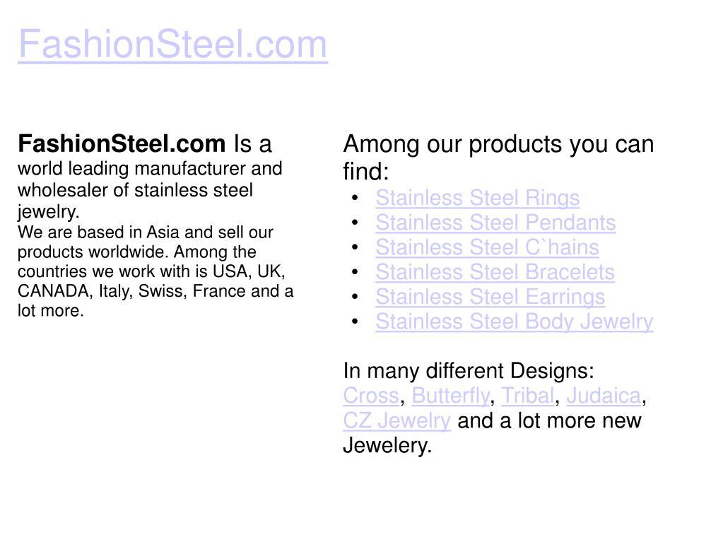 FashionSteel.com