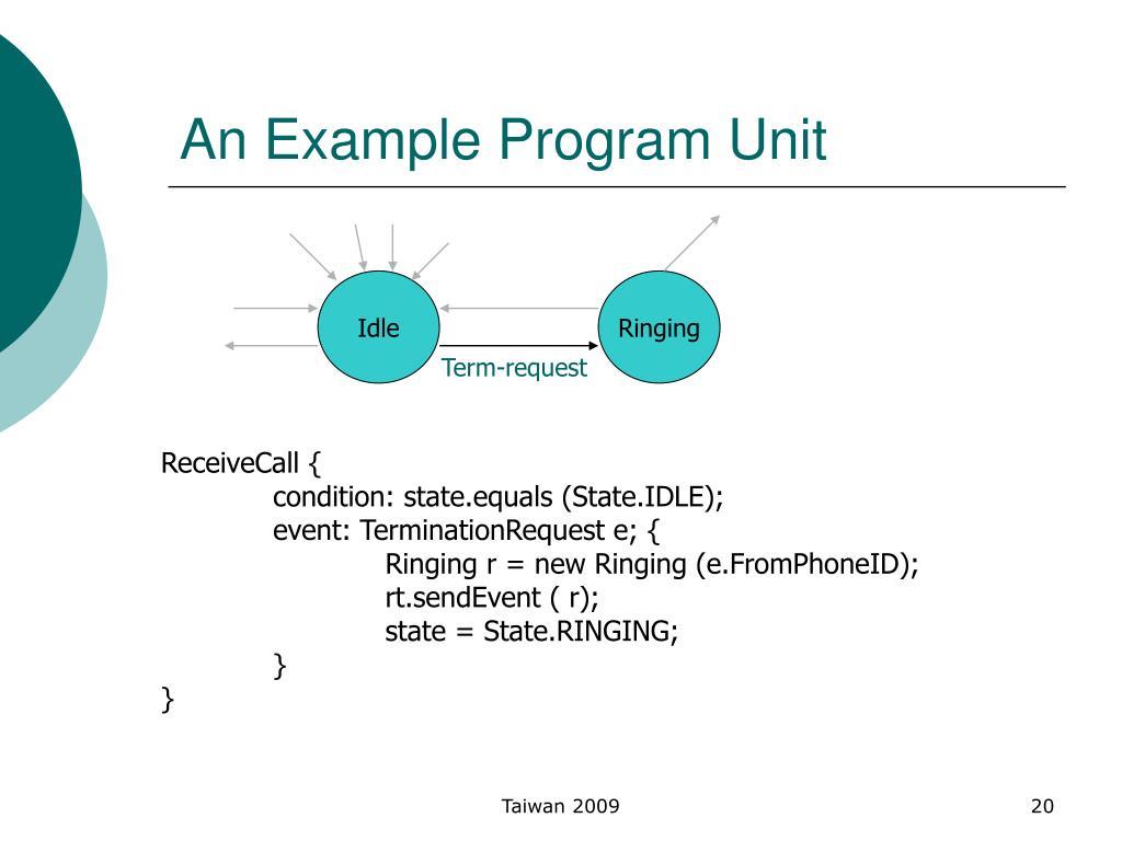 An Example Program Unit