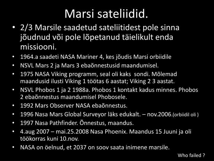 Marsi sateliidid.