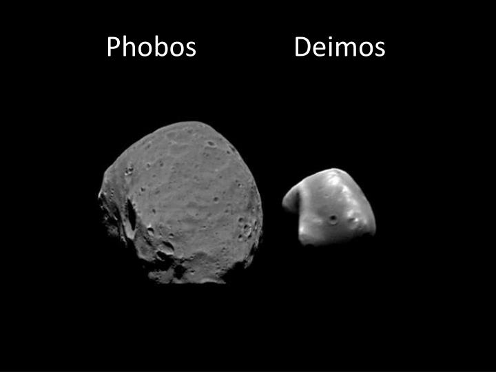 Phobos              Deimos