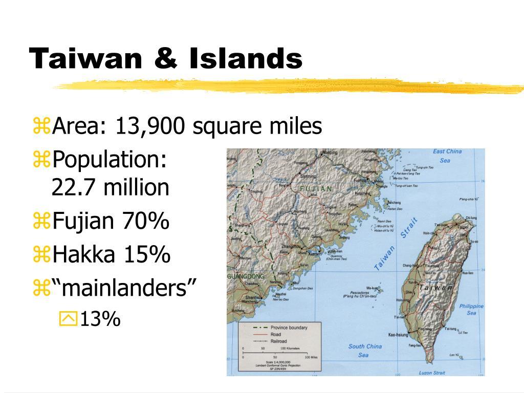 Taiwan & Islands
