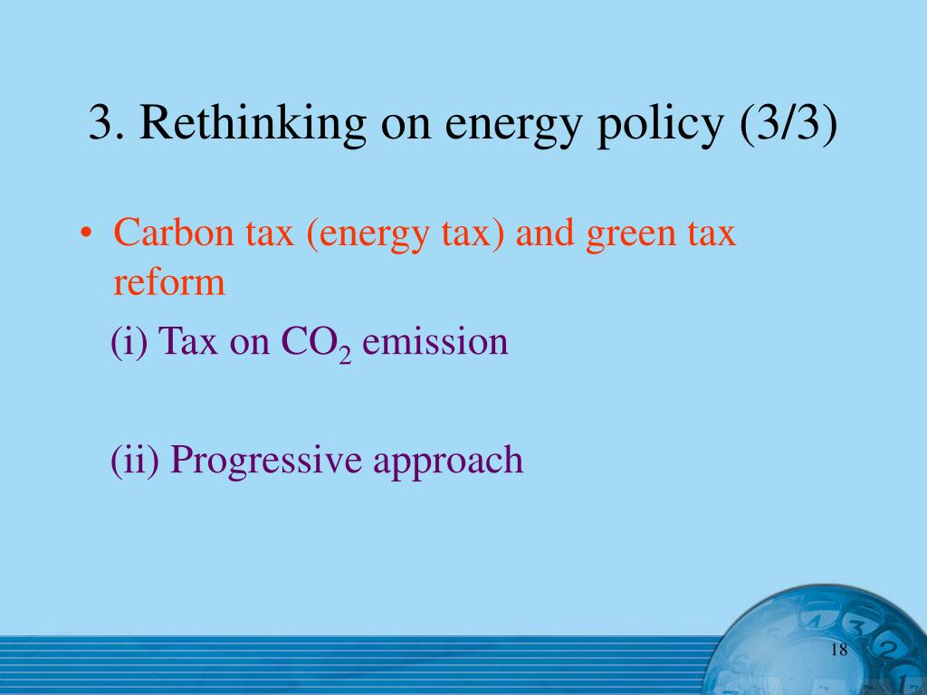 3. Rethinking on energy policy (3/3)